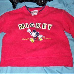 💝4/$15 small girls boys Disney sweatshirt top